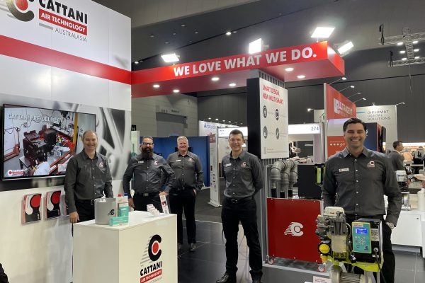 Cattani ADX21 Stand and Team