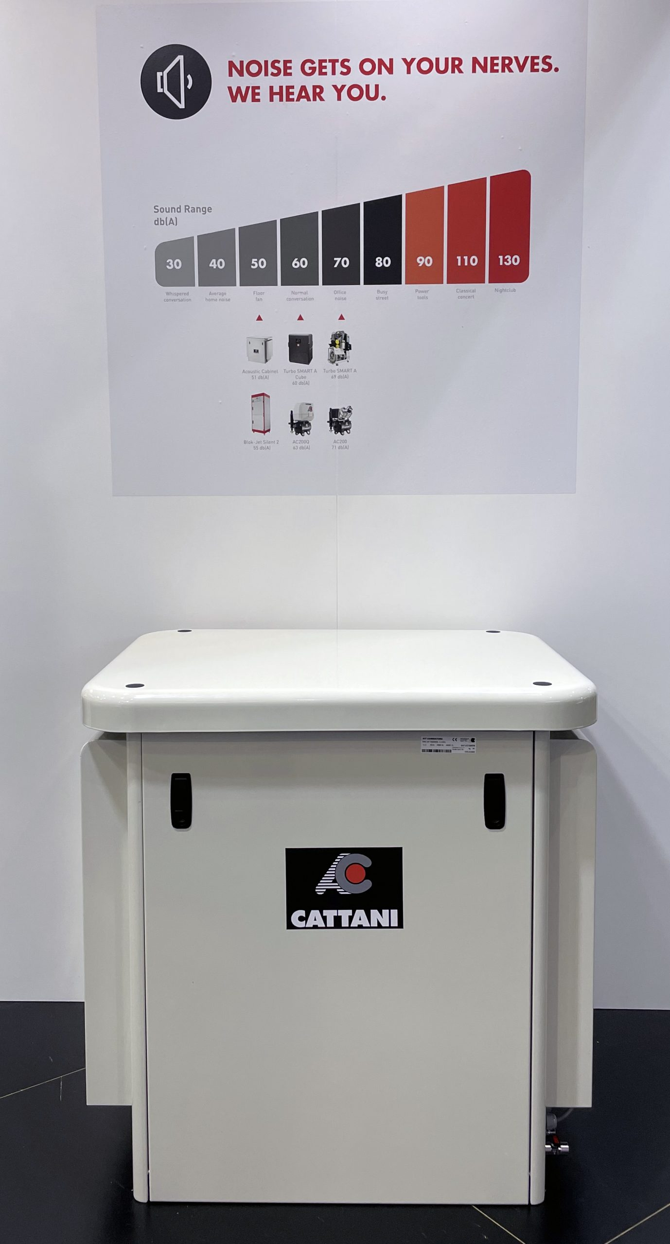 Cattani Acoustic Cabinet